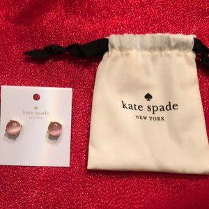 Kate Spade ♠️ Pink earrings.